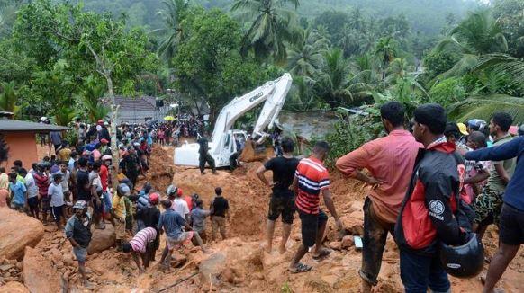 Повені та зсуви в Шрі-Ланці: число жертв зростає