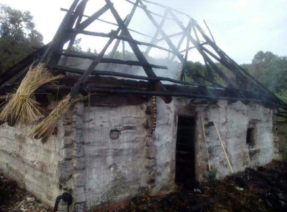 В киевском музее «Пирогово» сгорел старинный дом