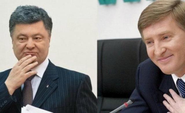 Упав-віджався: Ахметов поспішає виконати указ президента Порошенко