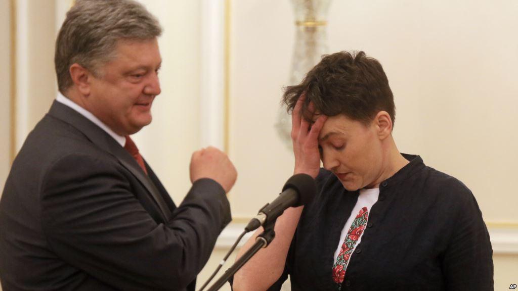 """Надія Савченко вважає, що Верховна Рада порушила конституційні права """"арештантів"""""""