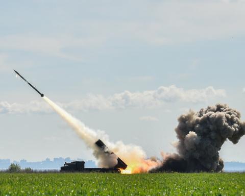 Петр Порошенко принял участие в запуске украинской ракеты, опубликовано видео