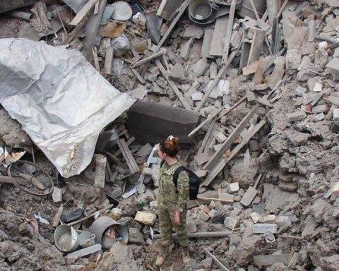 В Сети выложили фото последствий обстрела Красногоровки