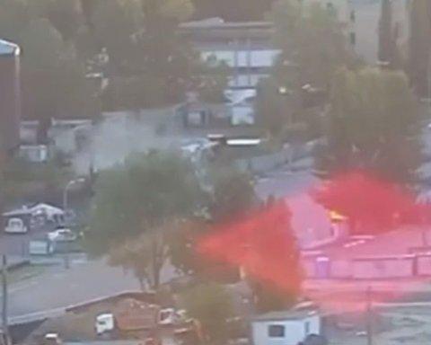 ДТП у Києві: у вантажівки відмовили гальма, оприлюднено відео