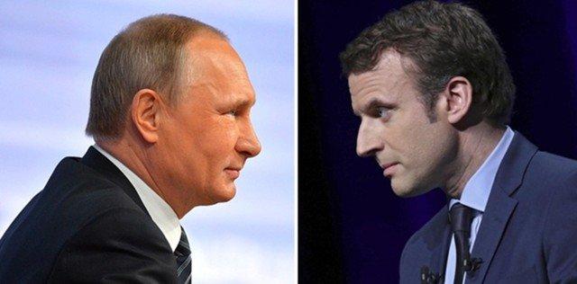 Стало відомо, як буде вирішуватись питання України на зустрічі Макрона і Путіна