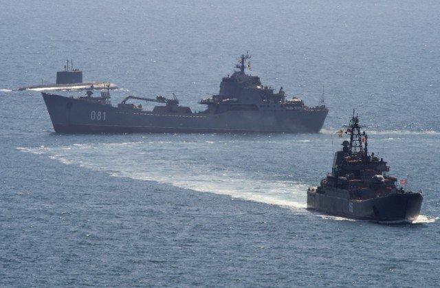 Латвія виявила біля своїх кордонів російський військовий флот