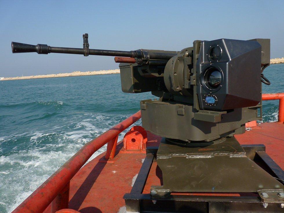 """Ізраїль створив унікальний """"безпілотний"""" кулемет для ведення військових дій на морі"""