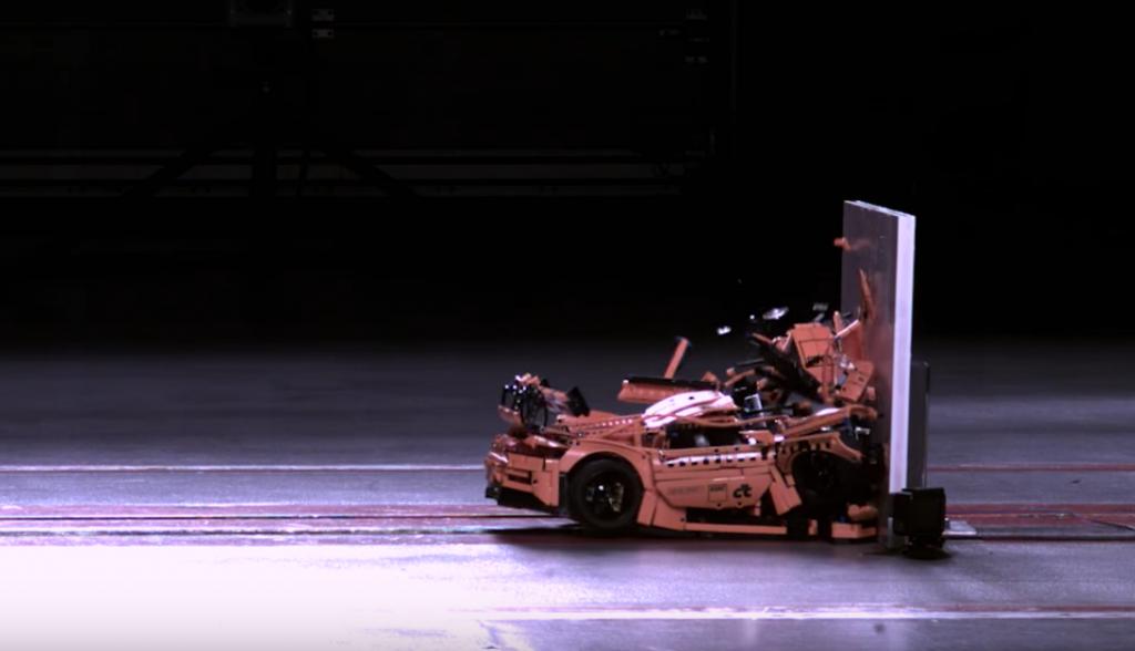 Дослідники оприлюднили відео краш-тесту Porsche Lego