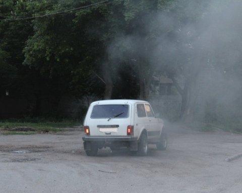 В Кропивницком взорвали авто с госслужащим