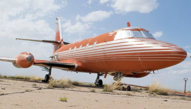 Особистий літак Елвіса пішов з молотка в 8 разів дешевше оціночної вартості