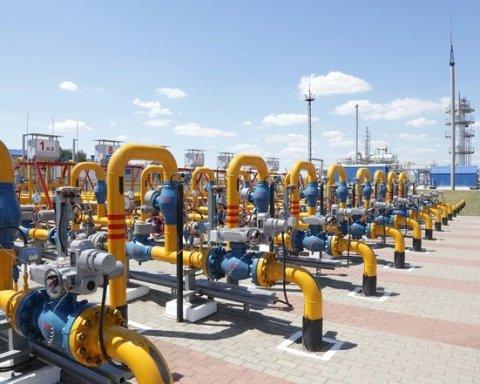 Украина сократила потребление газа, названы цифры