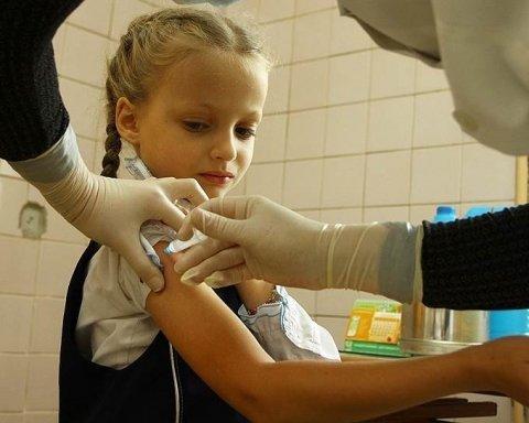 В Украине растет заболеваемость корью