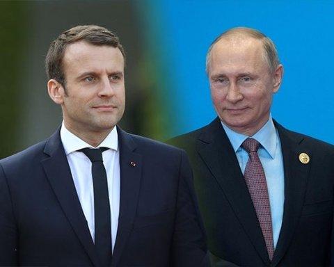 Макрон провел переговоры с Путиным: названы темы