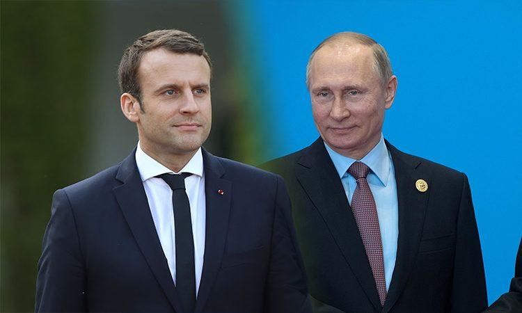 Путин и Макрон поговорили об Украине появились подробности