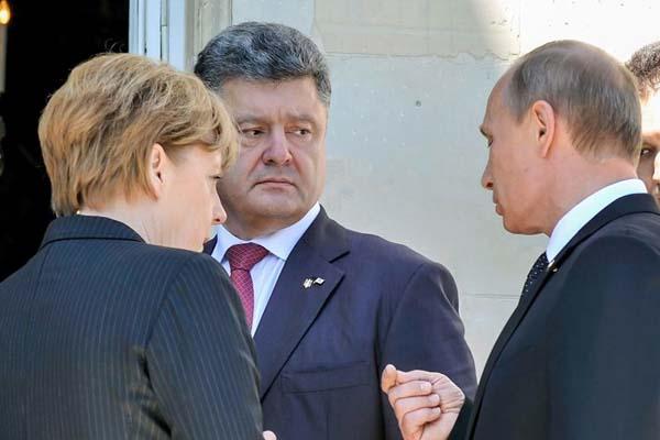 Порошенко отправился в Германию на переговоры с Меркель