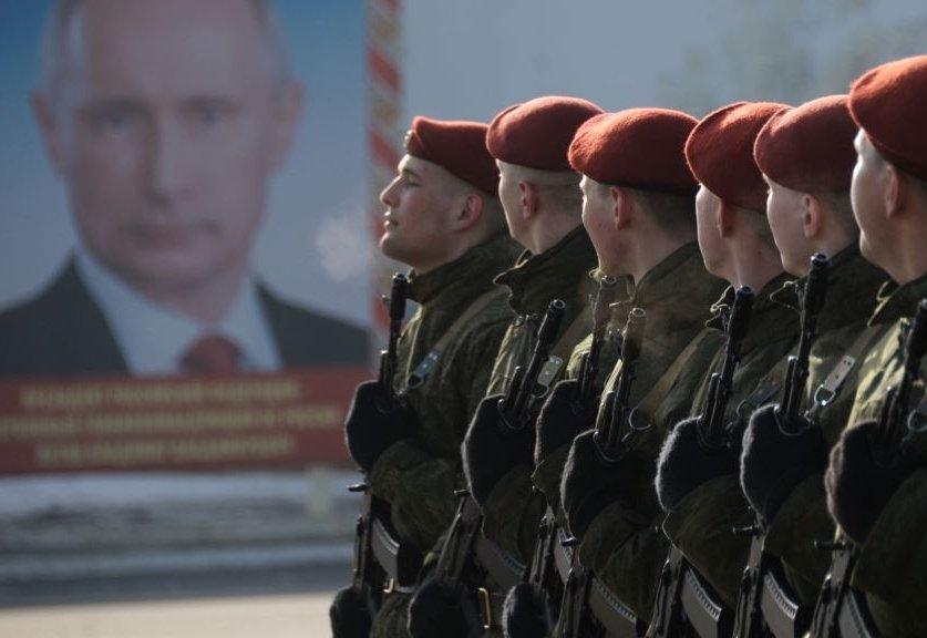 """Путін дозволив Росгвардіі боротися з """"антиросійською"""" агресією"""