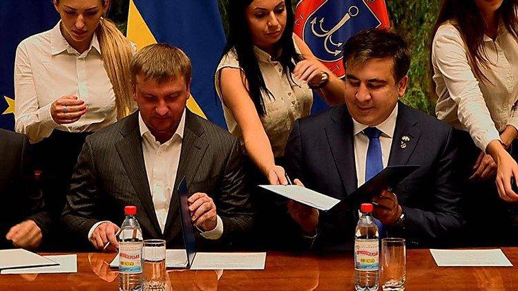 Міністр юстиції України подає до суду на Міхаїла Саакашвілі