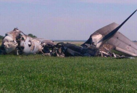 У Росії згорів військовий літак, є жертви