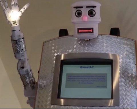 В немецком протестантском храме служит робот-священник, обнародовано видео