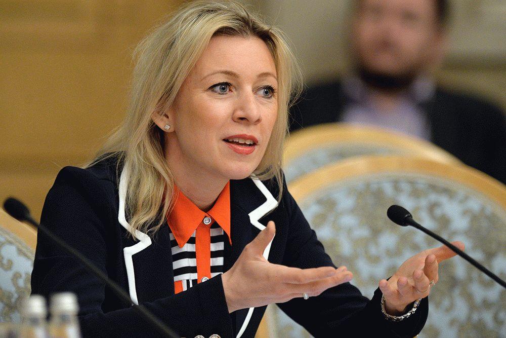 Захарова опять вспомнила о международном праве из-за украинского «списка Магнитского»