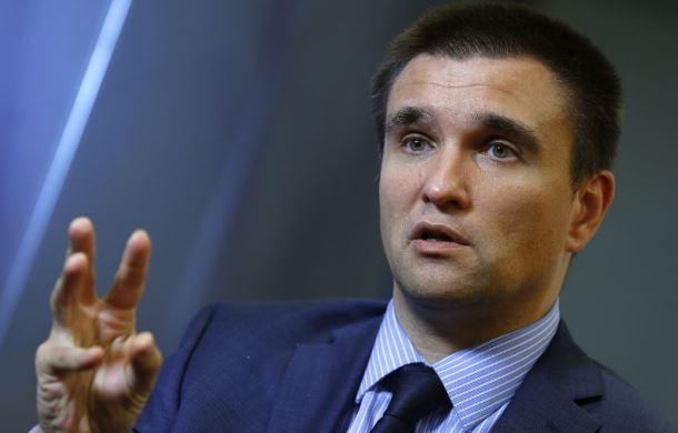 Клімкін вказав на наміри Росії на Донбасі