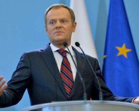 Туск пояснив, чому у Європі захоплюються українцями