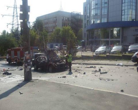 Взрыв авто в Киеве квалифицировано как теракт