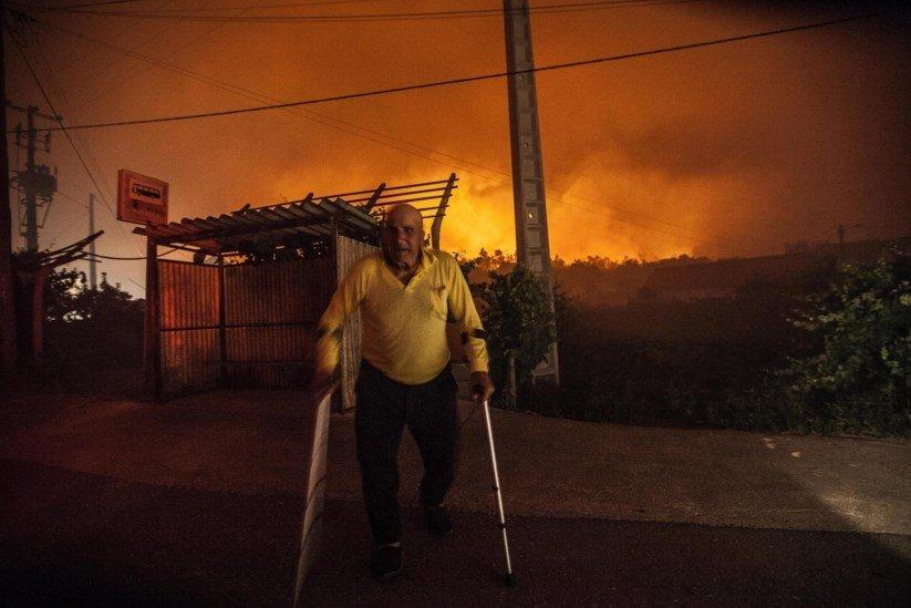 Понад 20 загиблих унаслідок лісової пожежі вПортугалії