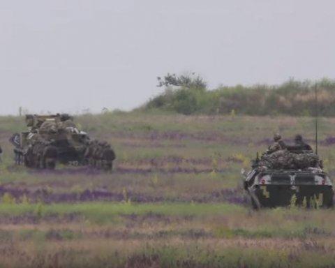 Бійці ВДВ ЗС України показали на що здатні під час масштабних навчань, оприлюднено відео