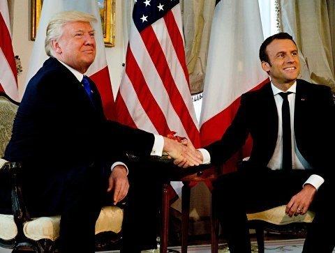 Трамп вместе с Макроном будут брать Бастилию