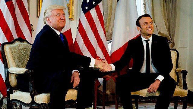 Франция иСША договорились осовместном ударе поСирии