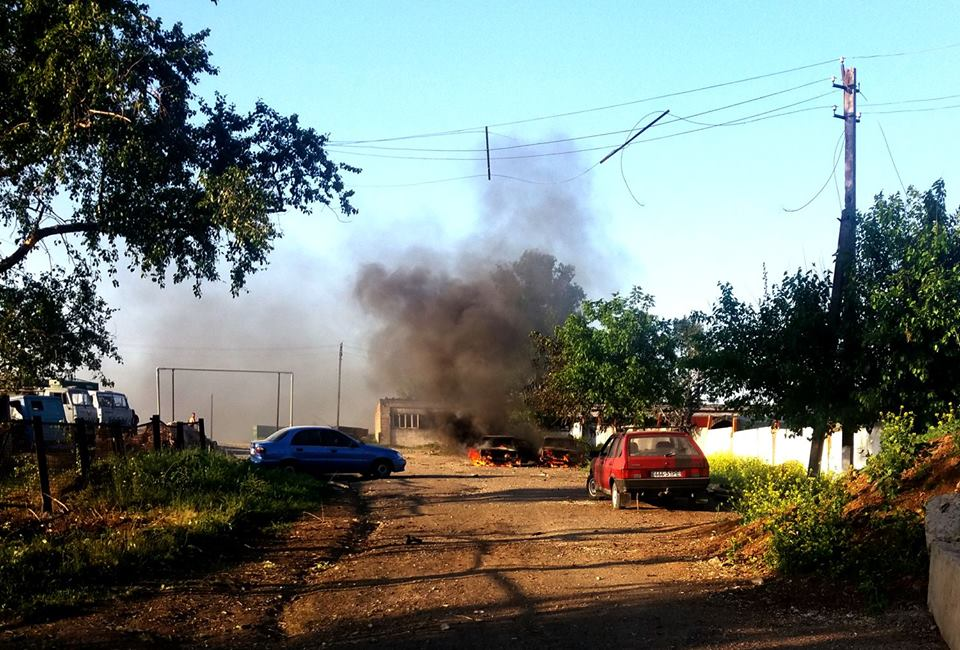 Ворог накрив вогнем мирних жителів Мар'їнки та Красногорівки