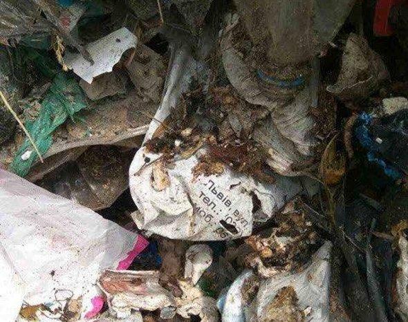 Під Києвом знайшли 60 тон львівського сміття