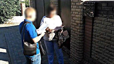 Супругу боевика «ДНР»: Врайоне АТО задержали информаторку террористов