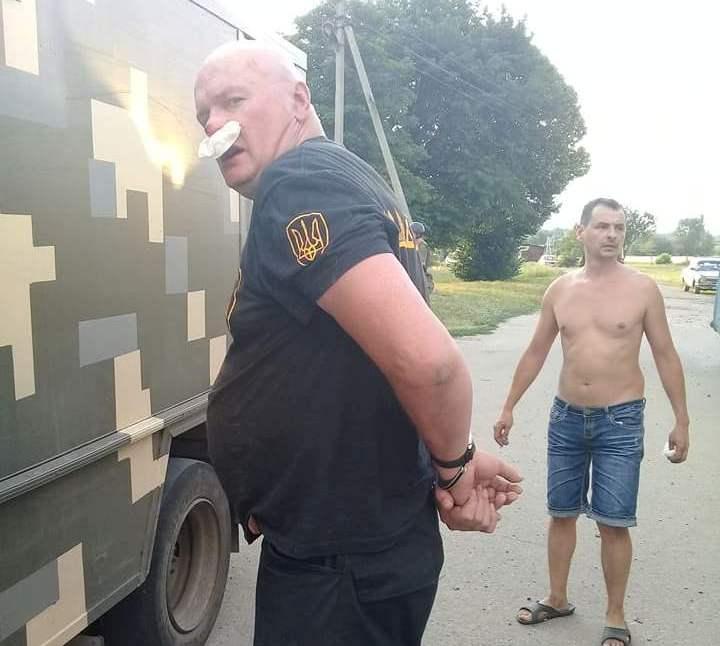 Поліція оприлюднила свої пояснення побиття ветеранів АТО біля Кропивницького