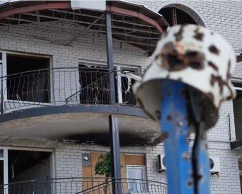 Бойовики обстріляли Широкино, Міноборони оприлюднило відео наслідків