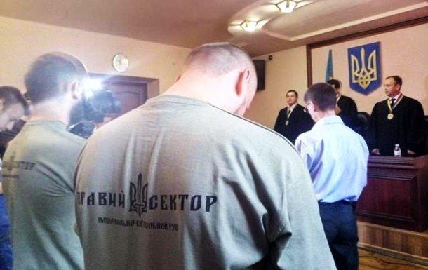 Суд прийняв рішення по бійцям Правого сектора, які брали участь в Мукачівській перестрілці