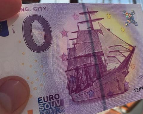 В Германии выпустили купюру номиналом в 0 евро, обнародовано фото