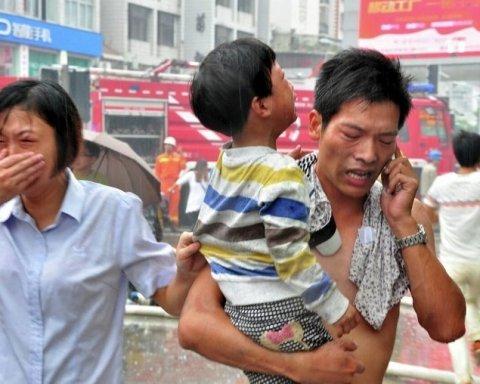 В детсаду в Китае произошел мощный взрыв, есть погибшие