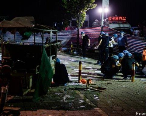Китайская полиция установила причину взрыва около детсада