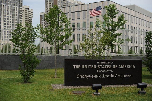 На территории посольства США в Киеве совершен теракт