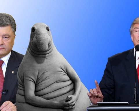 Зустріч в «оральному» кабінеті: соцмережі глузують над Порошенком і Трампом