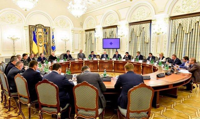 В РНБО ухвалили рішення щодо законопроекту про долю окупованого Донбасу