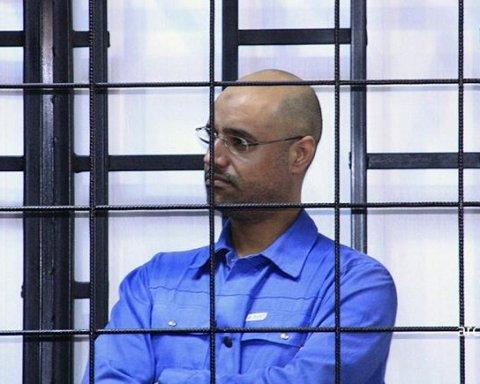 Повстанці у Лівії відпустили сина диктатора Каддафі після п'яти років полону