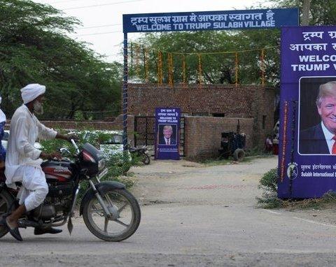 Индийцы переименовали свое село в честь Трампа