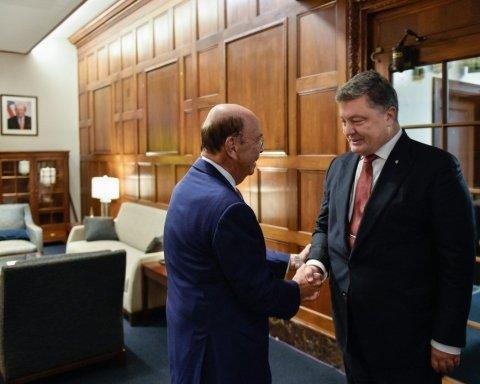 Порошенко рассказал, о чем говорил с министром торговли США
