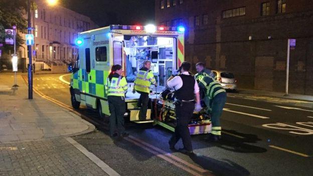 УЛондоні повідомили про постраждалих після наїзду фургона налюдей