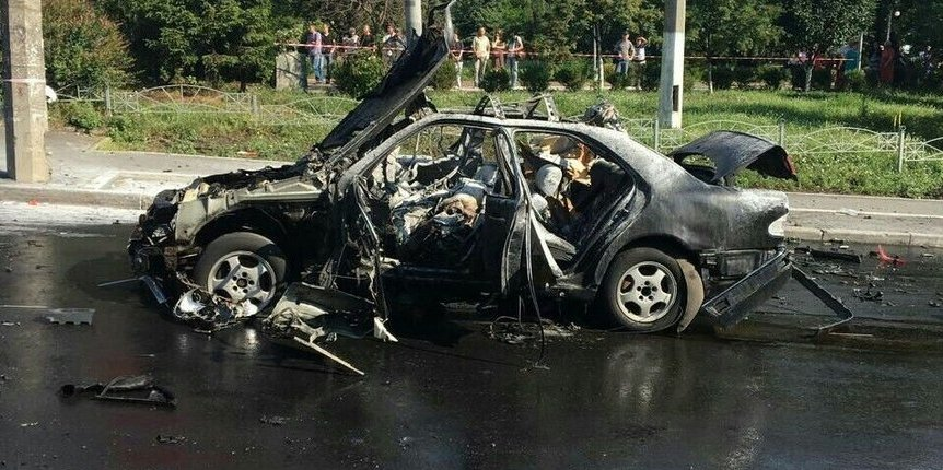На Житомирщині стався вибух авто, є загиблі