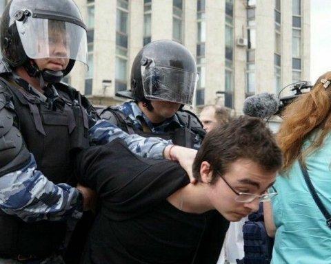 Стало відомо, скільки дітей затримав ОМОН у Москві
