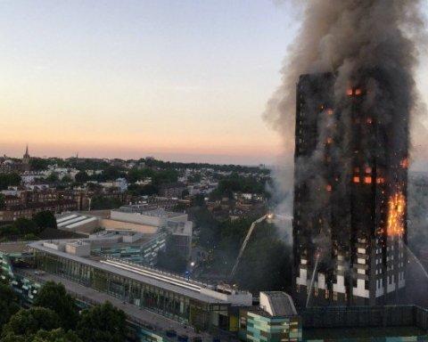 Названо число погибших на пожаре в Лондоне