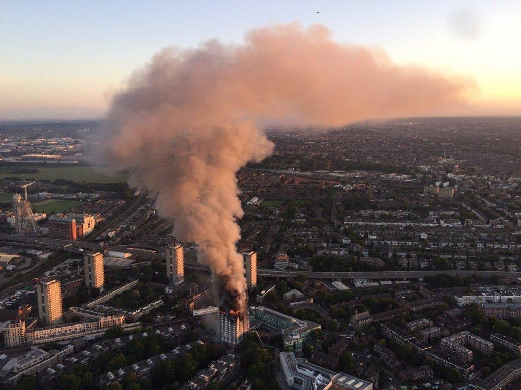 Жахлива пожежа в Лондоні: десятки постраждалих